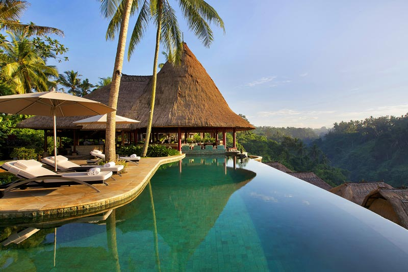 Viceroy Bali's main pool