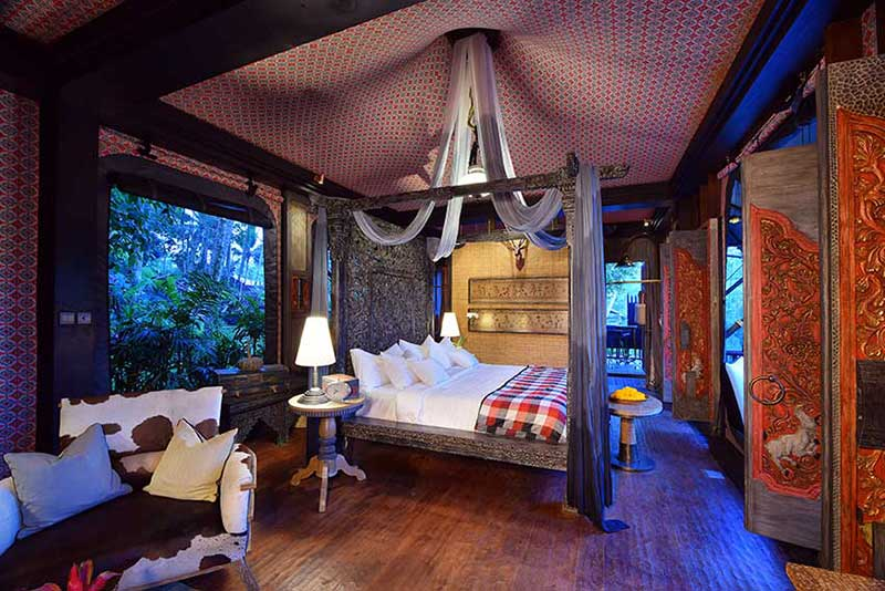 Bedroom at Capella Ubud
